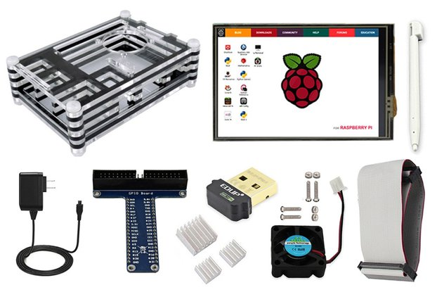 Starter Kit for Raspberry Pi Model 3B+