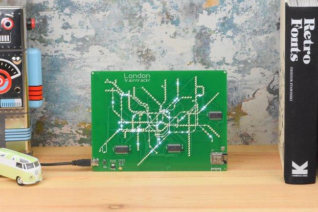 London Underground - Live LED Map