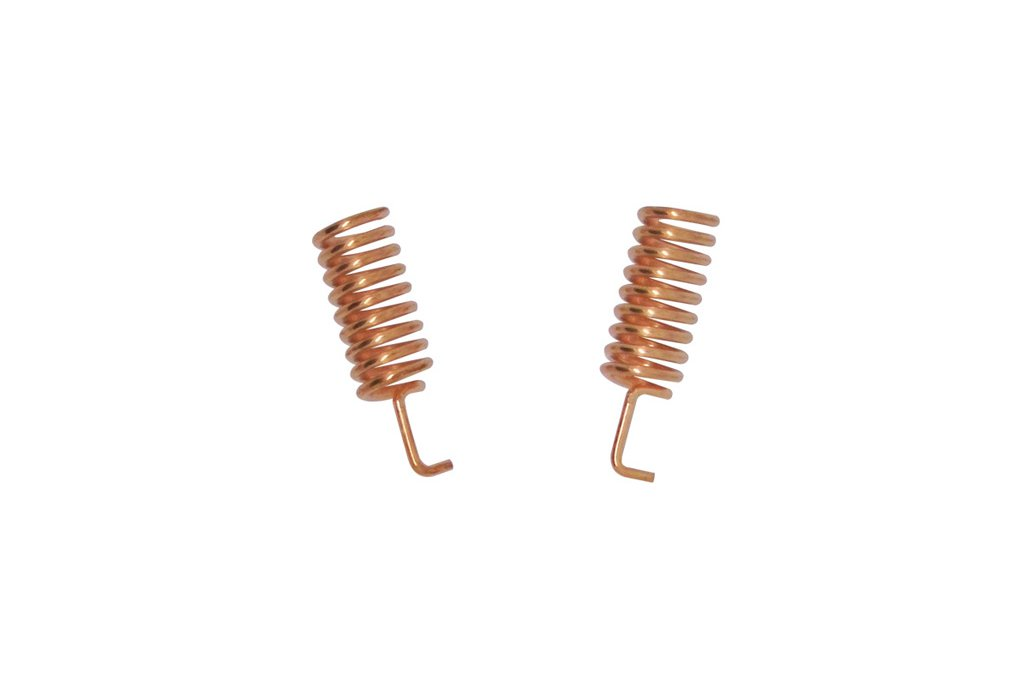 10pcs/pack  SW915-TH12 Copper spring antenna 2