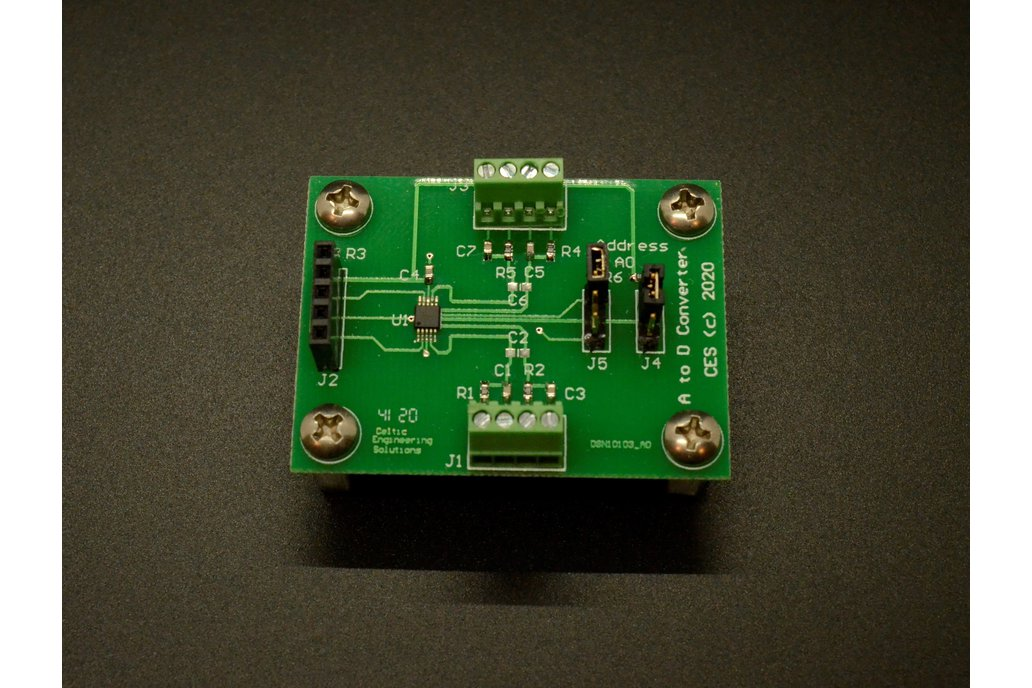 I2C Analog to Digital Converter (w/ Arduino Code!) 1