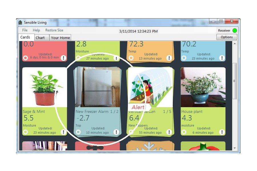 Wireless Refrigerator/Freezer sensor/alarm