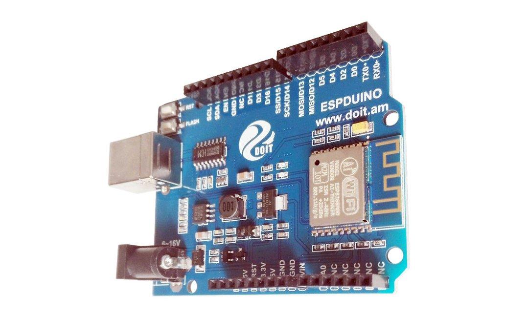 ESPDuino=WiFi +Arduino UNO R3 4