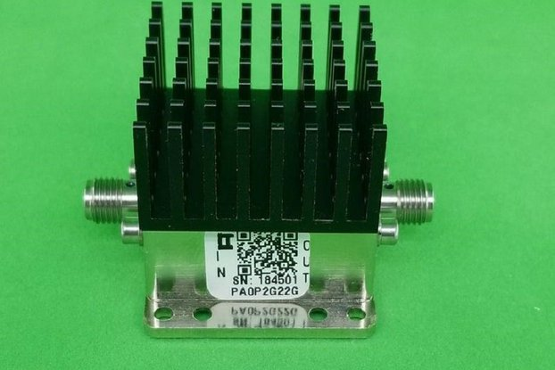 POWER AMPLIFIER 3DB NF 0.2 GHZ TO 22GHZ 12DB GAIN