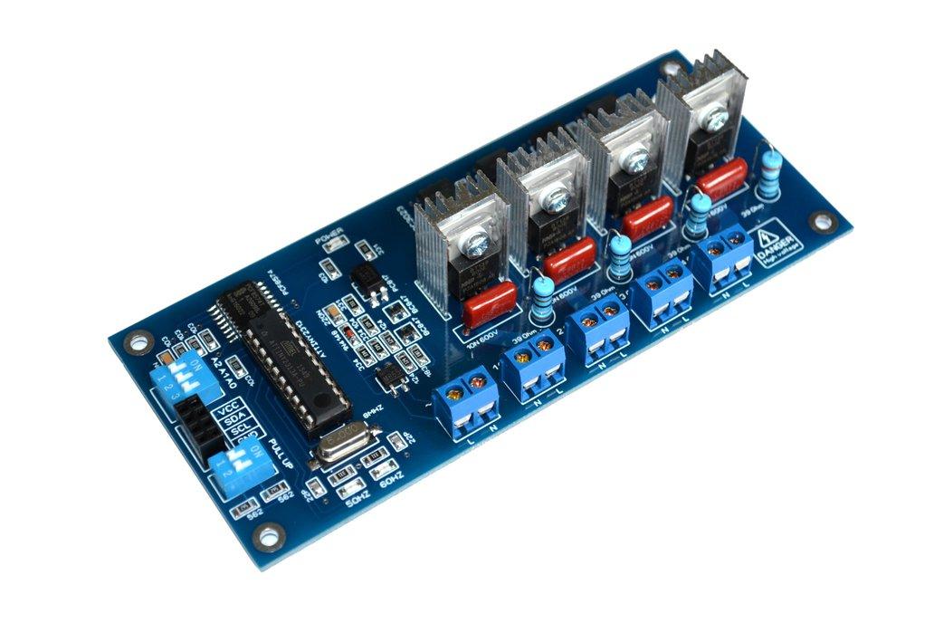 I2C 4CH AC LED Dimmer Module 1
