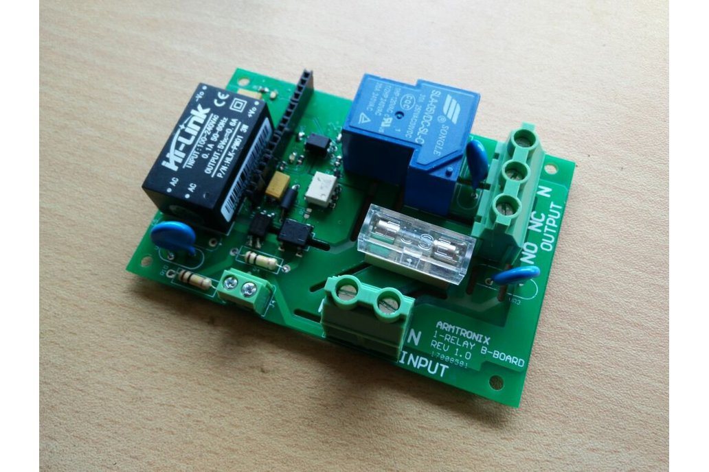Wifi Heavy Duty Relay Board 1