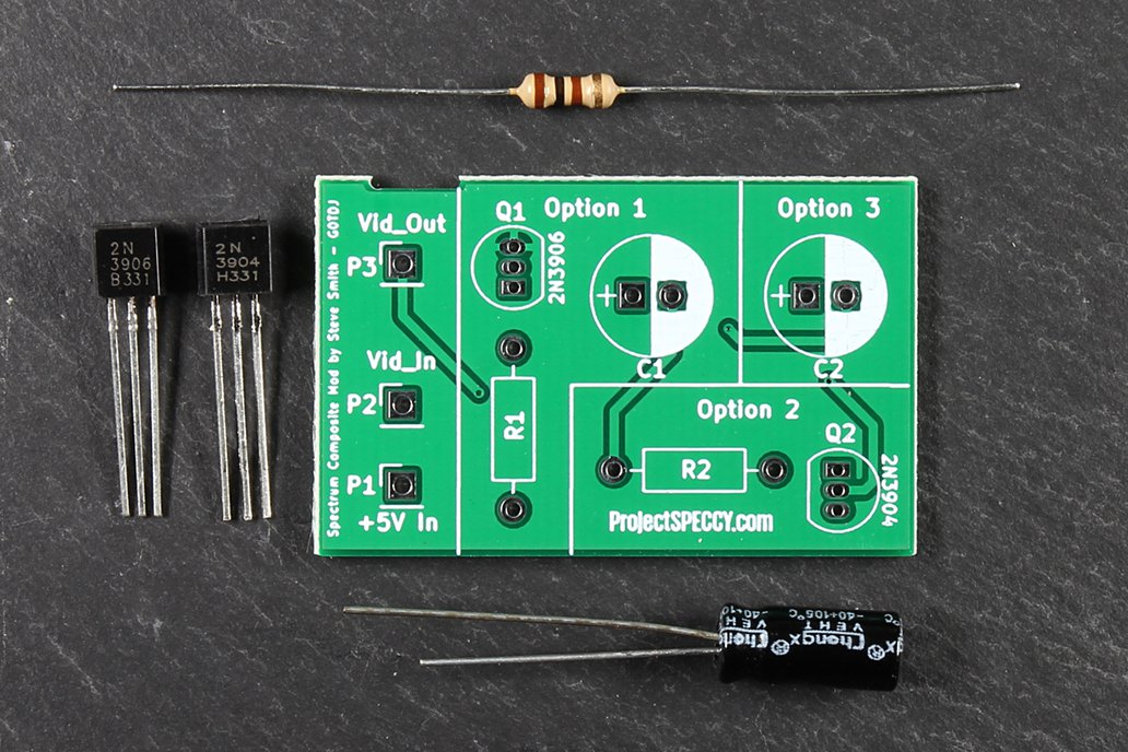 ZX Spectrum Composite Mod. Kit [Internal] 1