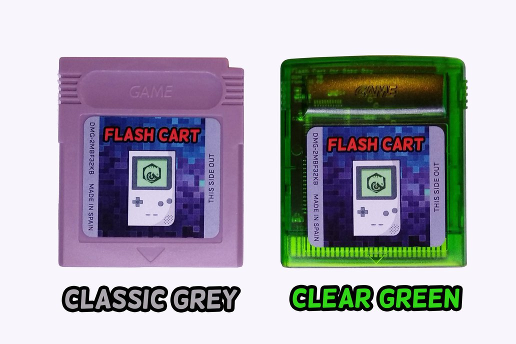 Flash Cartridge ( 2MB / 4MB ) for GameBoy 4