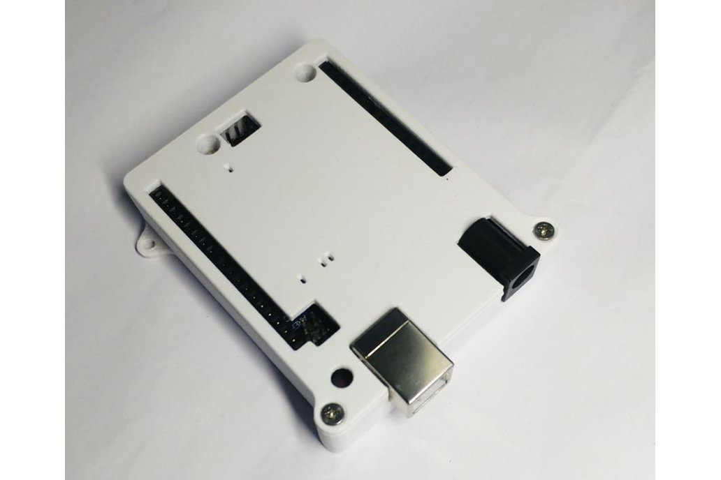Case for Arduino Uno R3 - White ABS Enclosure 1