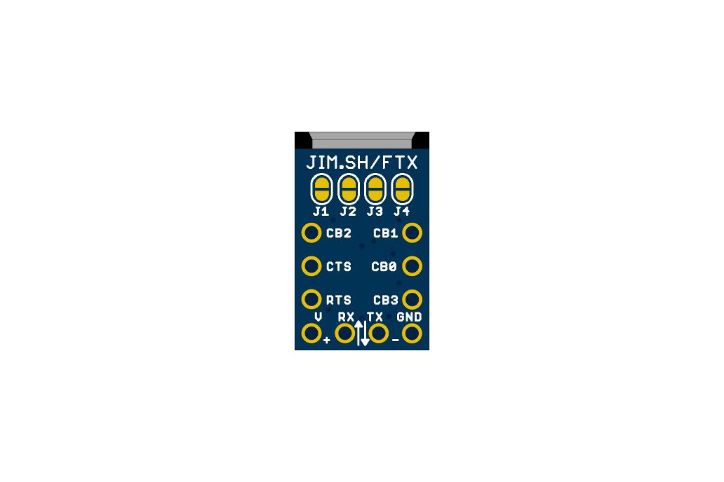 MicroFTX USB-Serial Breakout 4