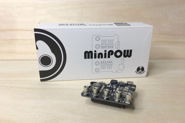 miniPow micro:bit built-in power expansion board