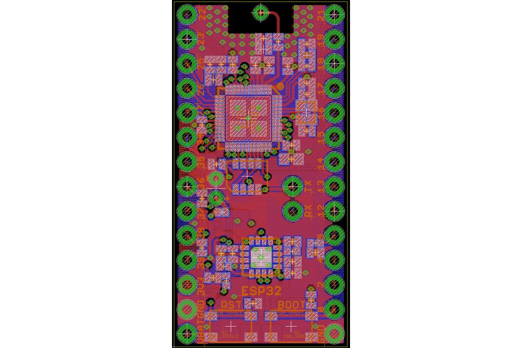 Smallest ESP32 Development Board 4