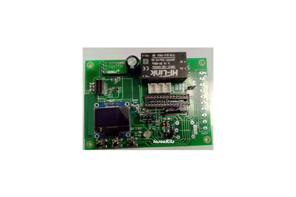 JasDuino WiFi/3NTCSensors/Relay/Oled/3Button Board 1