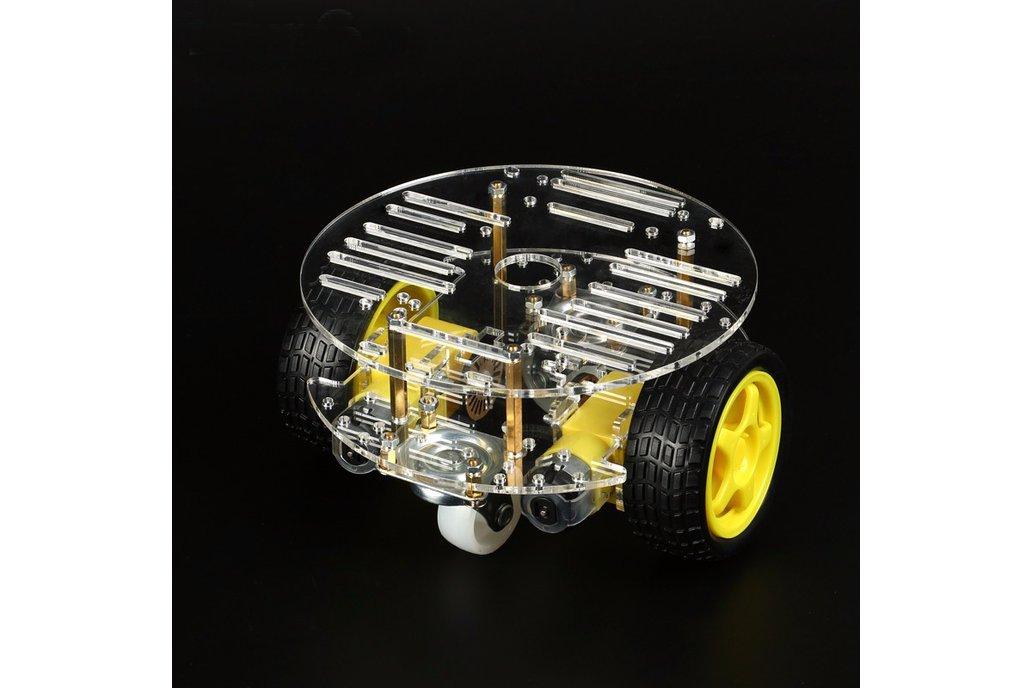 Round 2 Wheel-Drive Robot Car Kit 5