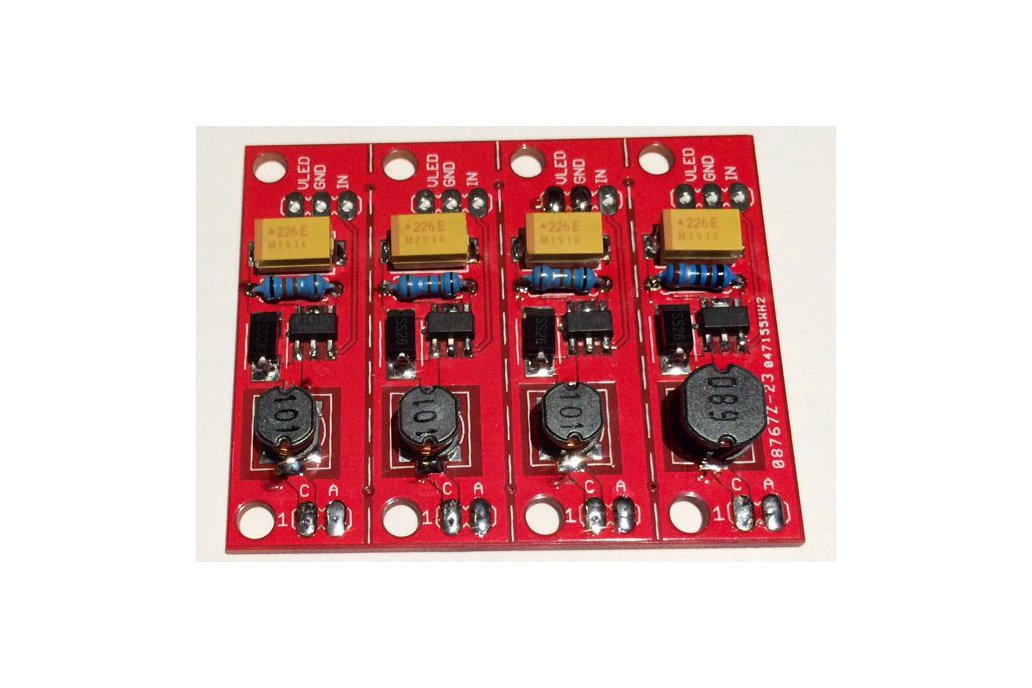 4 Channel Constant Current LED driver (PCB) 1