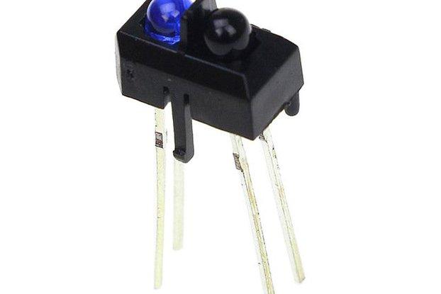 10 Pcs TCRT5000L TCRT5000 Reflective Optical Senso