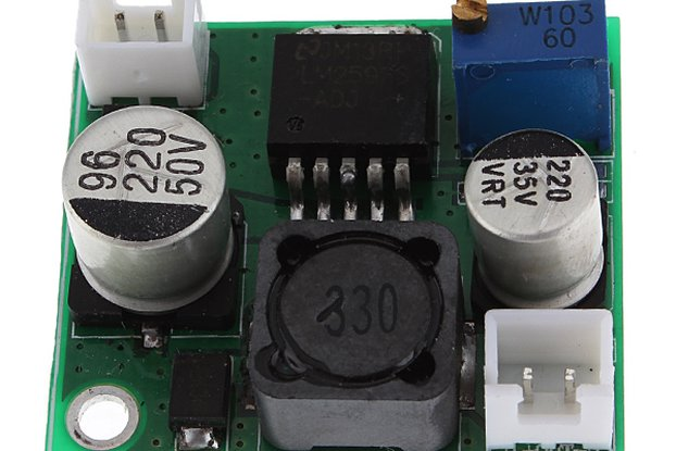 DC-DC Adjustable Step Down Regulator