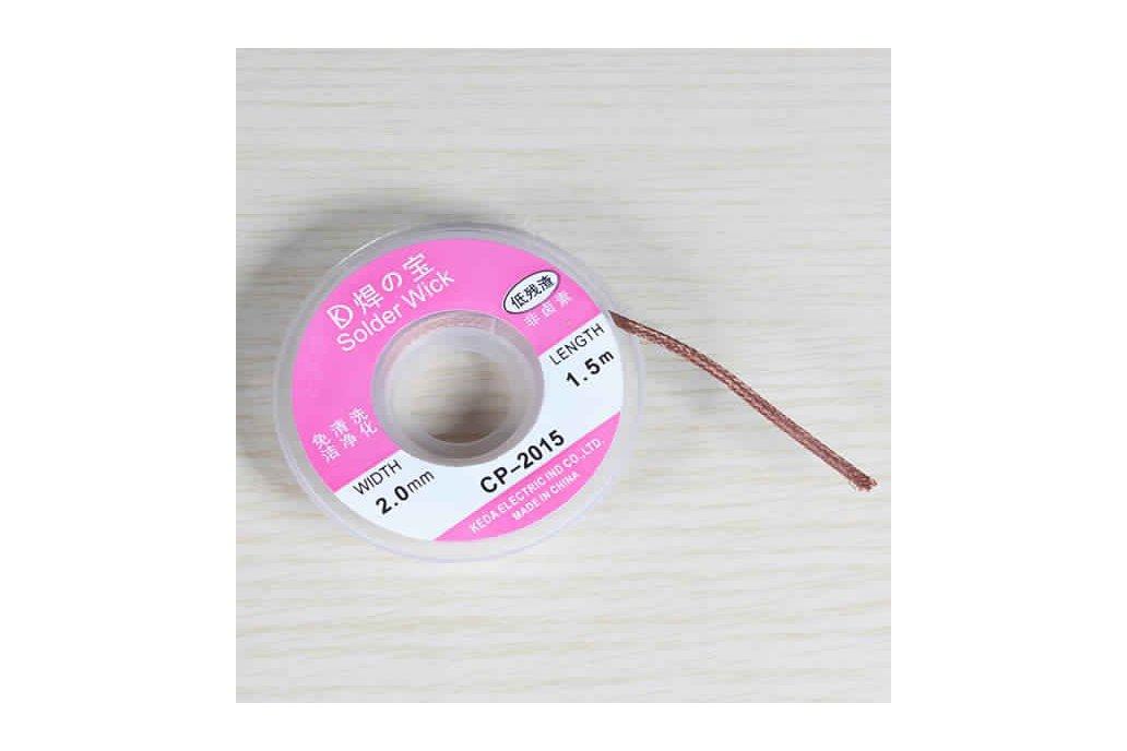 2.0mm 1m Desoldering Braid Solder 1