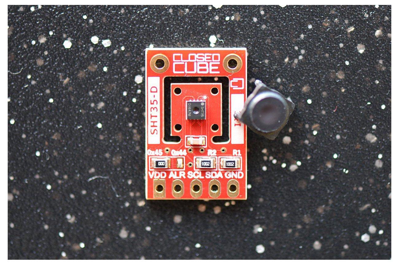 SHT35-D (Digital) Humidity & Temperature Sensor