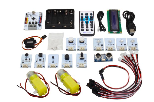 Arduino Starter kit for beginners and makers