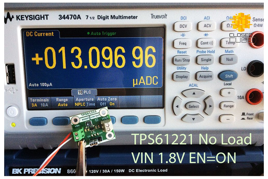 TPS61221 Low Input (from 0.7V) Boost 3.3V Breakout 8