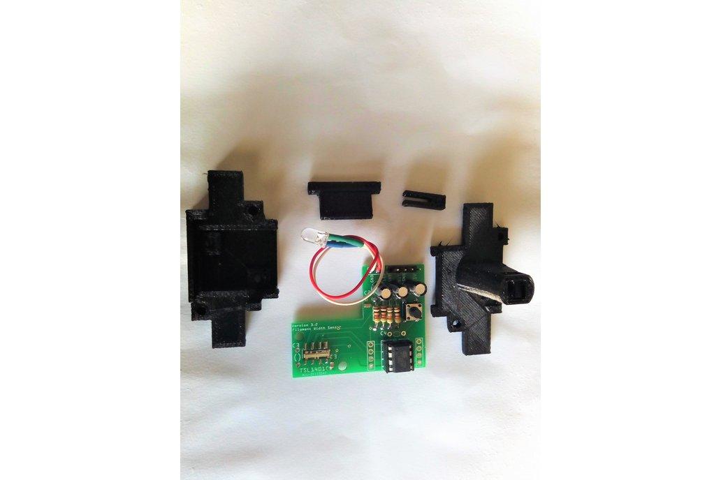 3DPrinter Filament Diameter Width Sensor Assembled 1