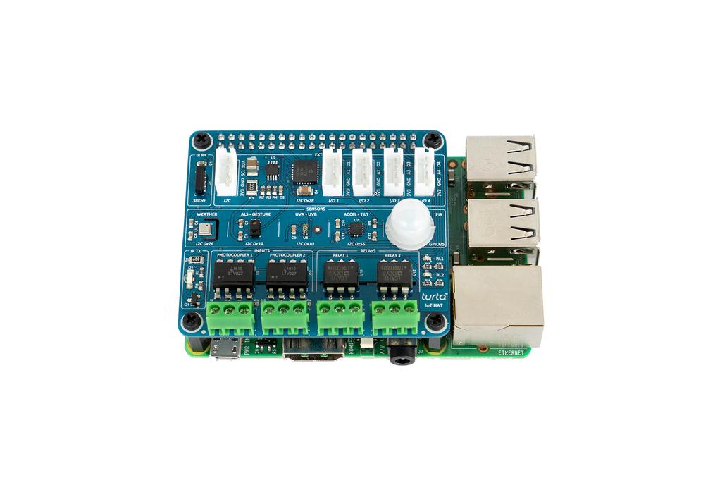 Turta IoT HAT for Raspberry Pi 2