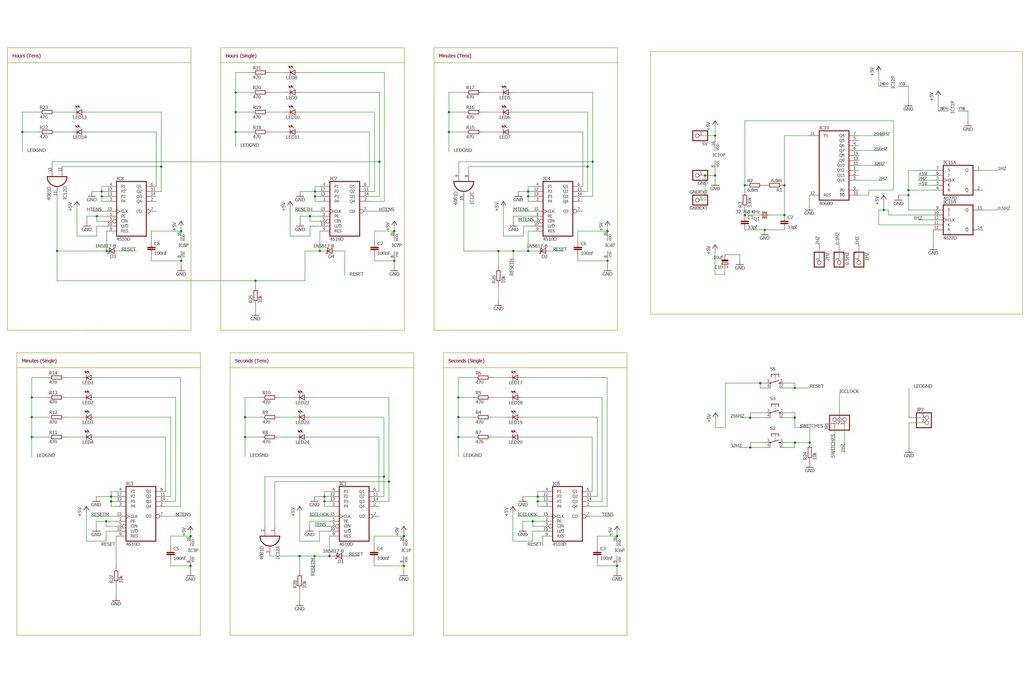 Binary Crap Clock Kit 5