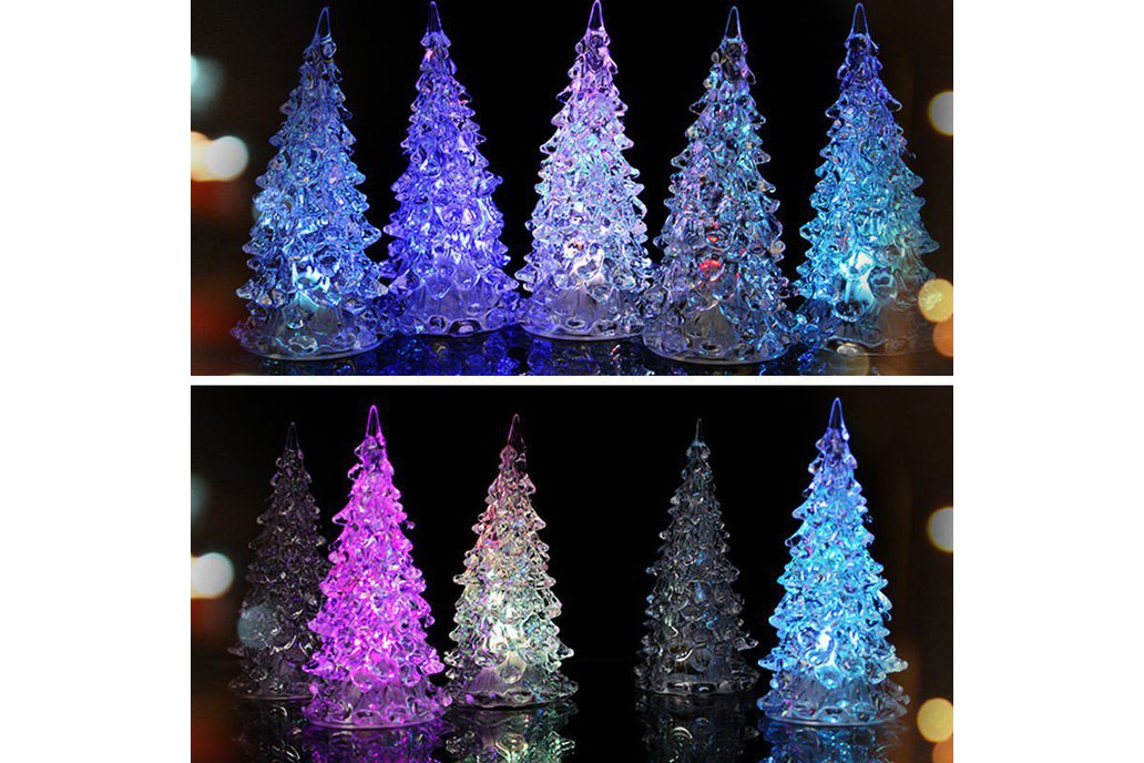 5pcs Colorful Changing Christmas Tree 1
