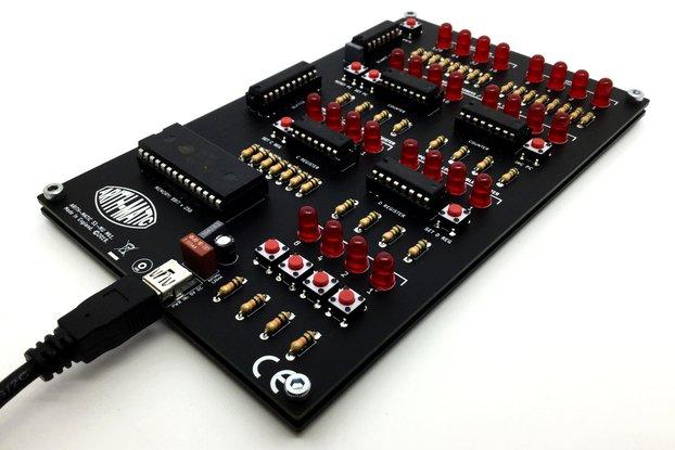 ARITH-MATIC S1-MU Mk1: A DIY 8-bit Memory Unit