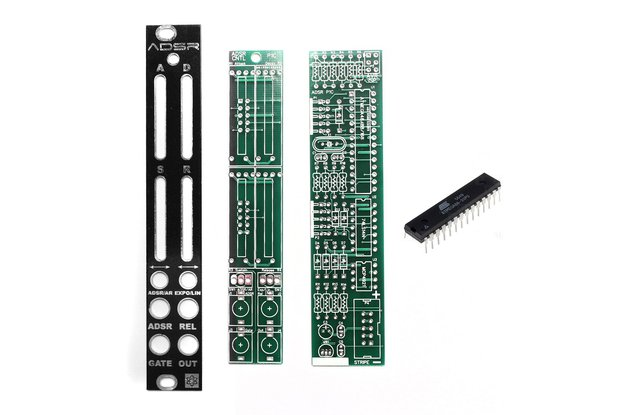 ADSR PCBs, Panel and IC