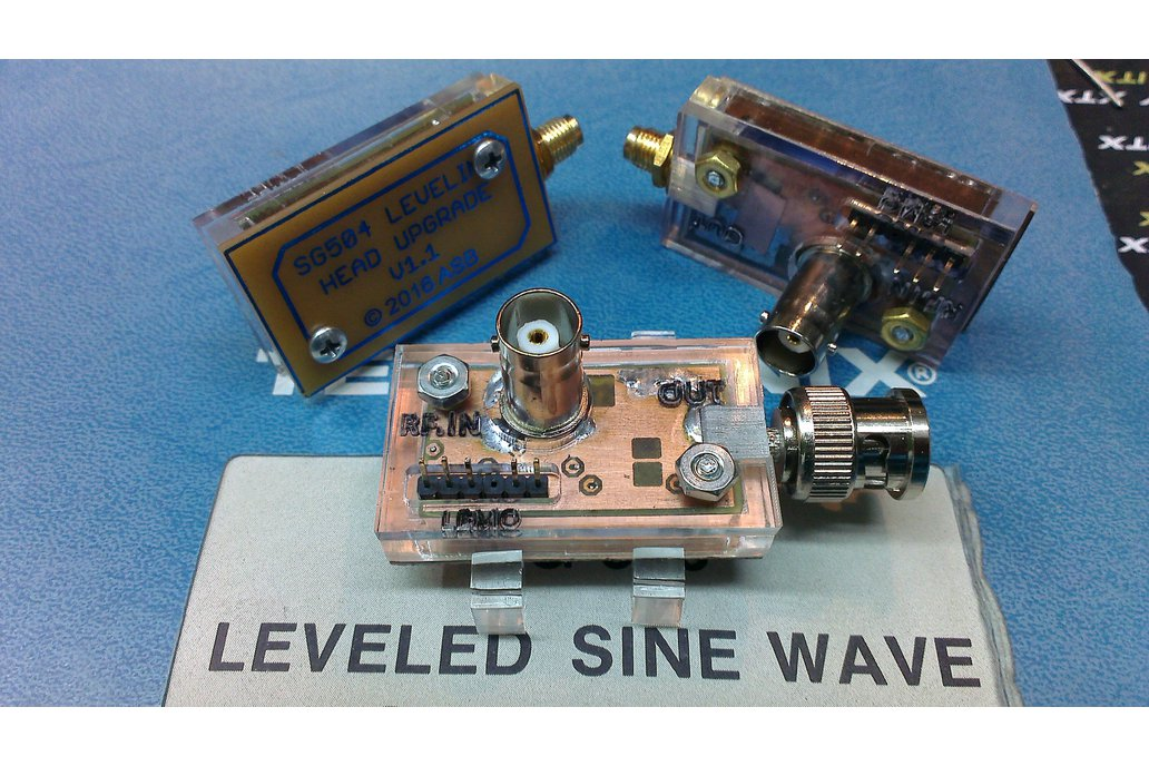 Upgraded SG 504 (For Tektronix) leveling head 1