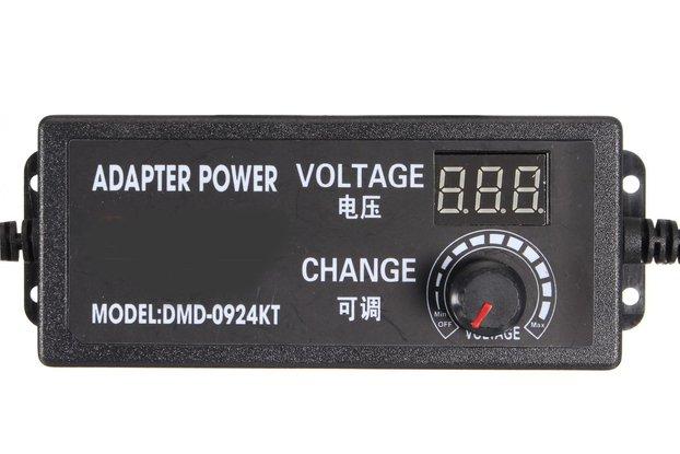 9-24V 2.5A 60W Speed Control Volt AC/DC Adjustable
