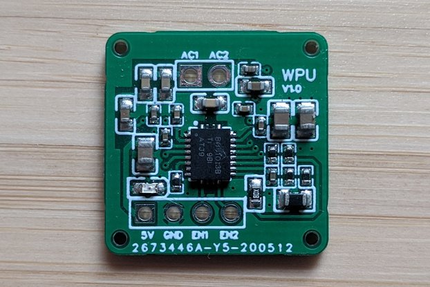 Wireless Qi receiver module