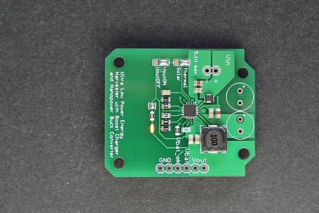 330mV BQ25570 start-up energy harvester