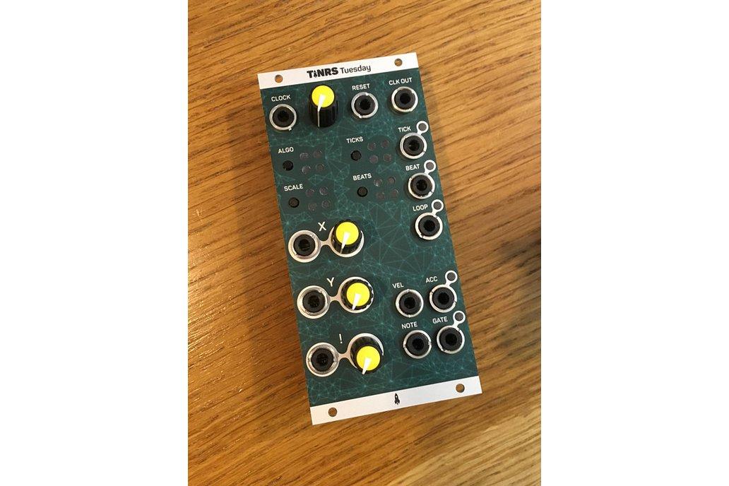 Tuesday - procedural sequencer for eurorack 2