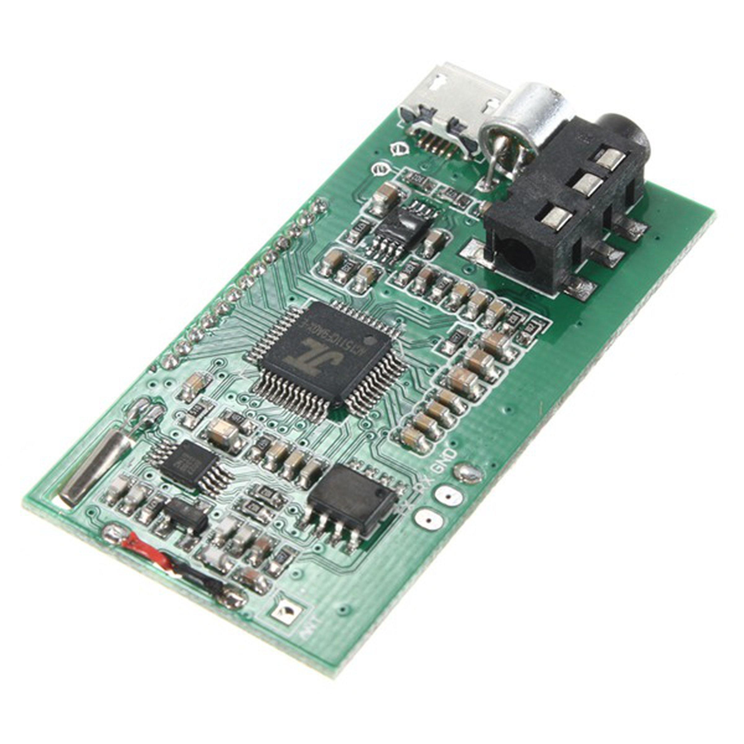 Usb Fm Transmitter Circuit In 2018 Electronics T Diagram Dsp Pll Module Aux 100mw 6