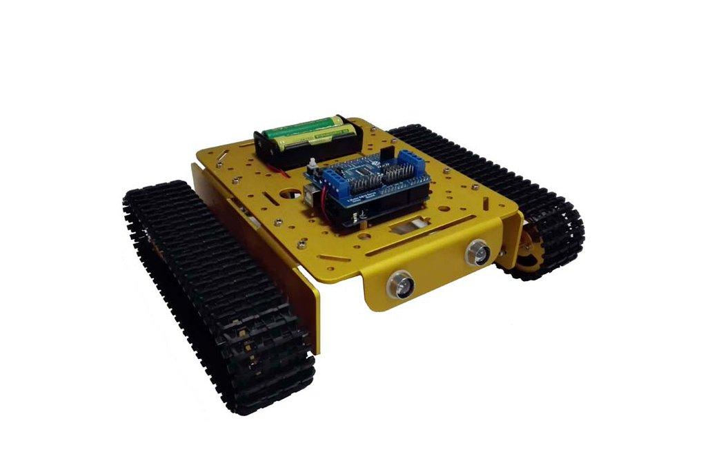 Arduino wifi Metal T200 Crawler Tank 4