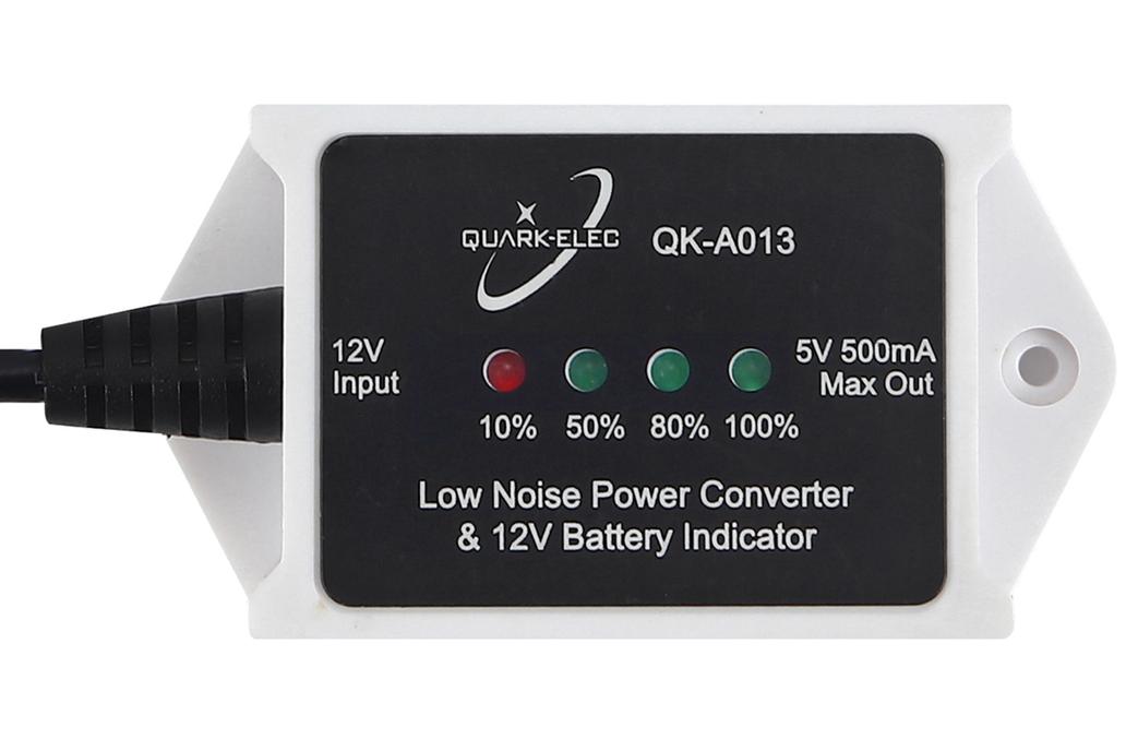 QK-A013 Low Noise 12V to 5V Power Converter 3