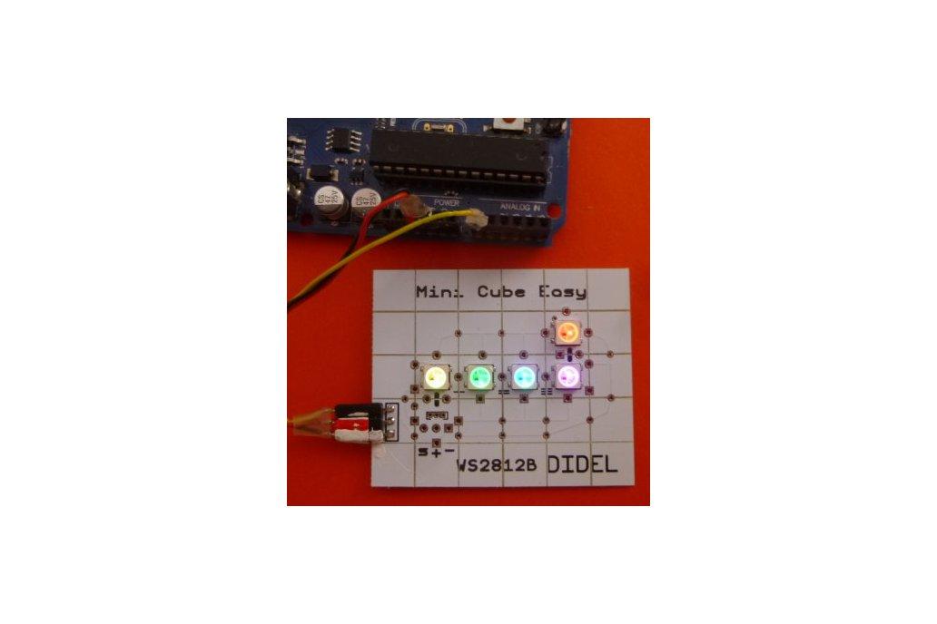 RGB microcube - 9mm side 2