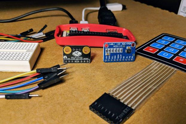 One Pin Keypad Combo (includes Membrane Keypad)