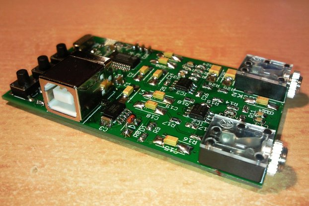 USB audiocard