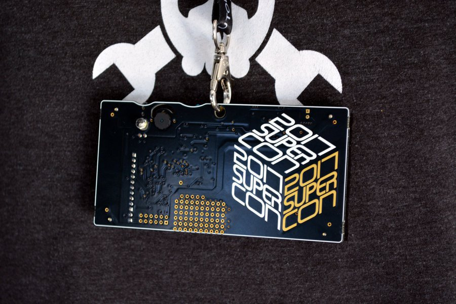 2017 Hackaday Superconference Badge