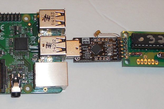 USB real time clock for raspberry pi