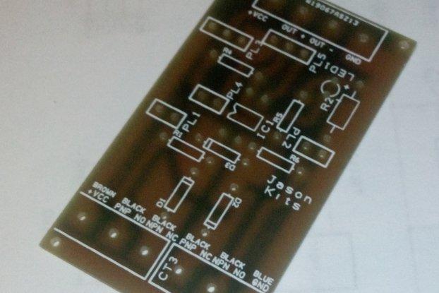 Universal NPN PNP inductive sensor interface board