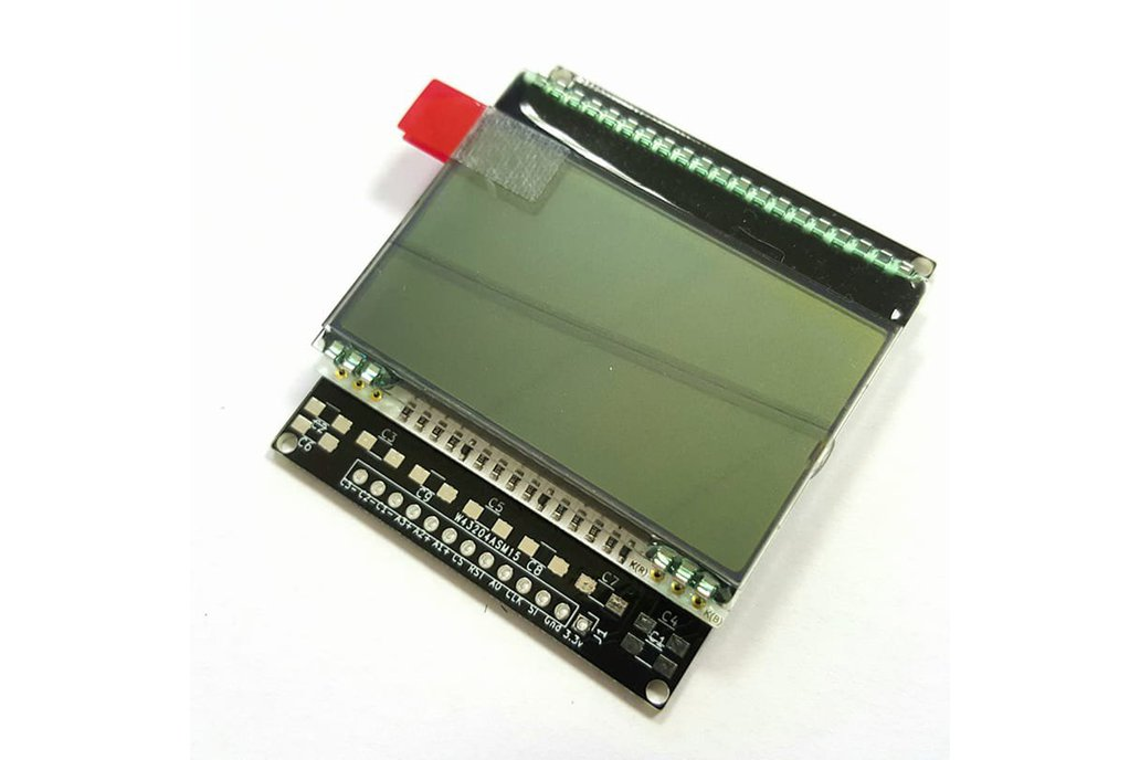 AE DOGM-128 Display holder, breadboard compatible 14