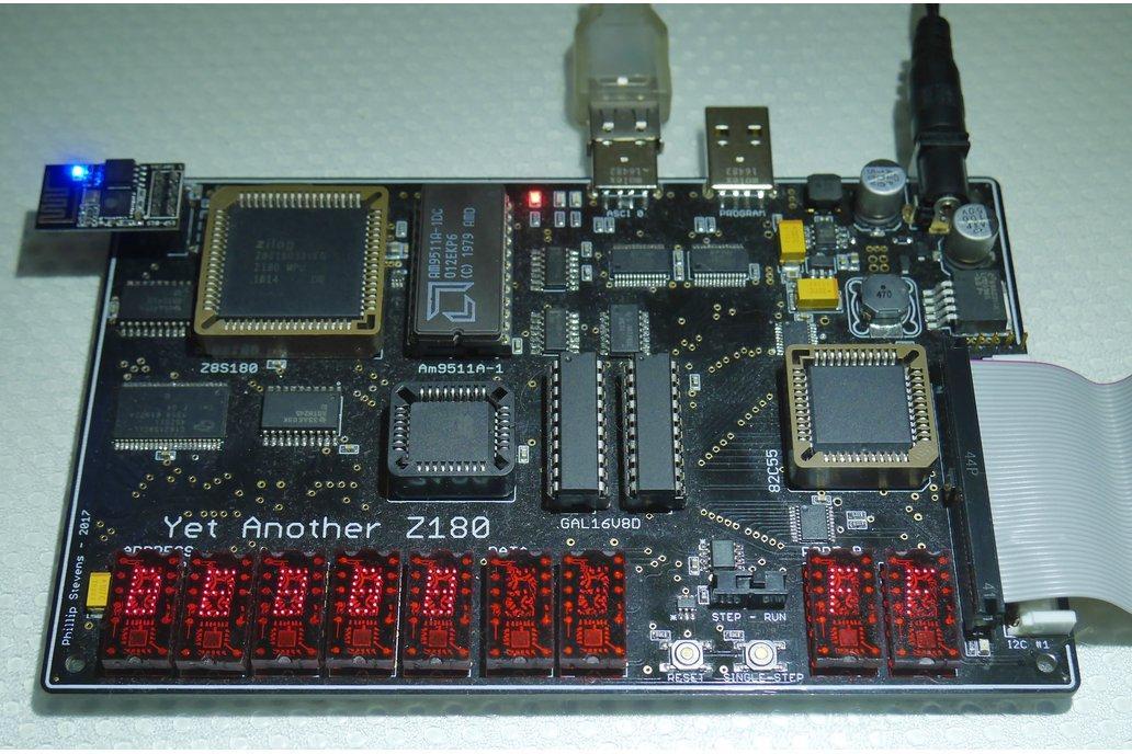 YAZ180 PCB - Modern Single Board Z80 Computer 8