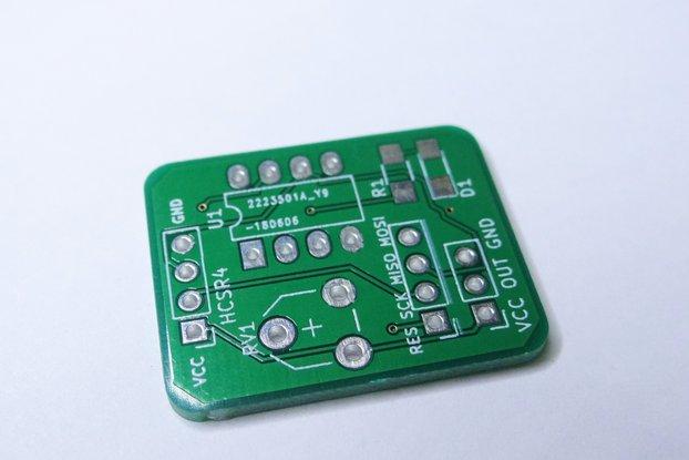 HC-SR04 Reader Module PCB