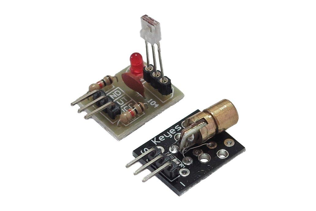 KY-008 Laser x Laser Detector 2