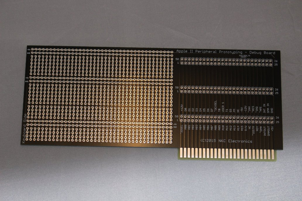 Apple II peripheral card prototyping PCB 3