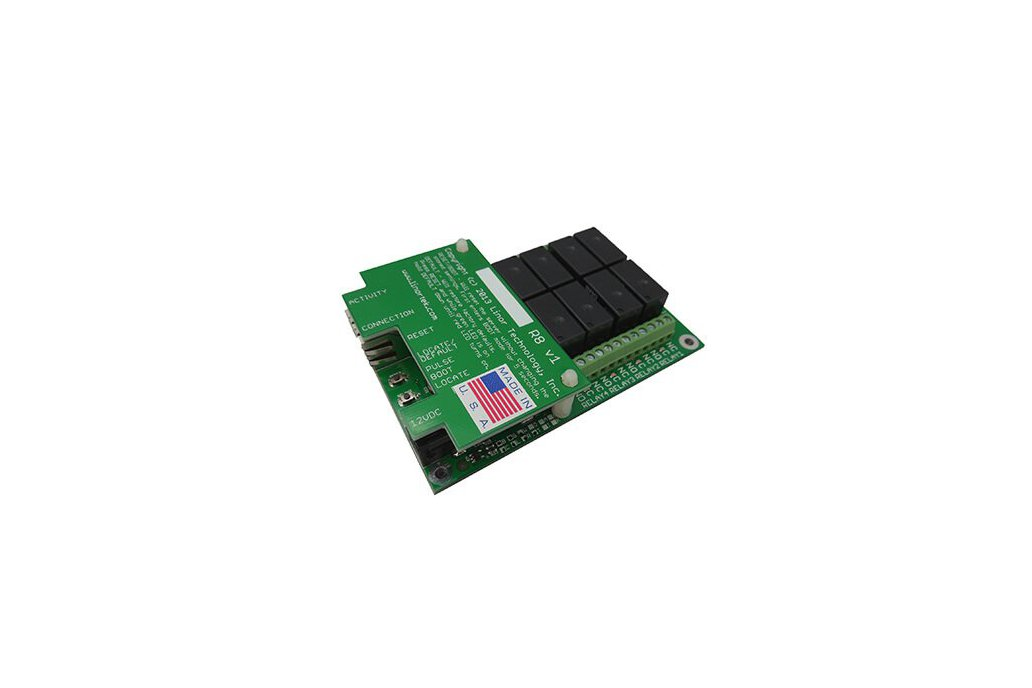 Fargo G2R8 Web-based TCP/IP Ethernet Relay Board 1